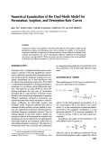 Numerical examination of the dual-mode model for permeation  sorption  and desorption rate curves.