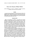 Study of the nitration of methyl cellulose.