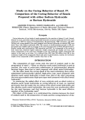 Study on the curing behavior of resol. IV. Comparison of the curing behavior of resols prepared with either sodium hydroxide or barium hydroxide