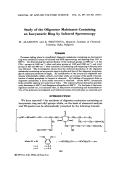Study of the oligoester maleinates containing an isocyanuric ring by infrared spectroscopy.