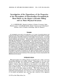 Investigation of the dependence of the properties of the phenoplasts of phenolanilineЦformaldehyde resol resin on the degree of kaolin filling and on their physical structure.