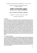 Studies of some basic aspects in easy care cotton finishing I. Nature of substrate and methods of application