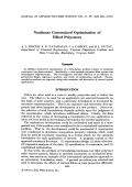 Nonlinear constrained optimization of filled polyesters.