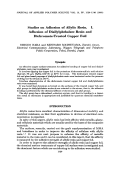Studies on adhesion of allylic resin. I. Adhesion of diallylphthalate resin and dichromate-treated copper foil