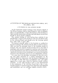 Activities of The Wistar Institute April  1917  to April  1919. A statement by the Advisory Board