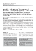 Reliability and validity of the university of california los angeles scleroderma clinical trial consortium gastrointestinal tract instrument.