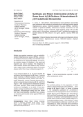 Synthesis and Potent Antimicrobial Activity of Some Novel 4-5 6-Dichloro-1H-benzimidazol-2-yl-N-substituted Benzamides.
