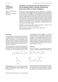 Synthesis and Structure-Activity Relationship of Di-3 8-diazabicyclo[3.2.1]octane Diquaternary Ammonium Salts as Unique Analgesics