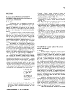 Evaluation of the 1982 American Rheumatism Association revised criteria for the classification of systemic lupus erythematosus.