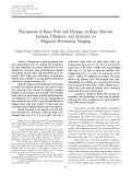 Fluctuation of knee pain and changes in bone marrow lesions effusions and synovitis on magnetic resonance imaging.