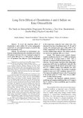 Long-term effects of chondroitins 4 and 6 sulfate on knee osteoarthritisThe study on osteoarthritis progression prevention a two-year randomized double-blind placebo-controlled trial.
