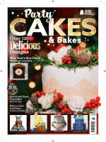 Cake Craft Guides - Issue 33 - Party Cakes & Bakes 2017