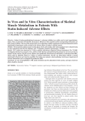 In vivo and in vitro characterization of skeletal muscle metabolism in patients with statin-induced adverse effects.