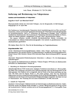 Isolierung und Bestimmung von Valepotriaten Isolation and Determination of Valepotriates.