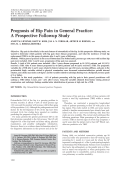 Prognosis of hip pain in general practiceA prospective followup study.