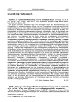 QSAR and Strategies in the Design of Bioactive Compounds herausgeg. von J. K. Seydel XIV 442S. 150 Abb. 68 Tab. Preis DM 14800 VCH Verlagsgesellschaft mbH Weinheim 1985