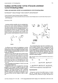 Synthesis and Muscarinic Activity of Isoxazole-substituted 1256-Tetrahydropyridines.