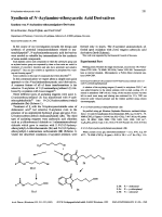 Synthesis of N-Acylamino-ethoxyacetic Acid Derivatives.