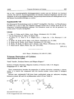 Triazene Derivatives of Cytisine.
