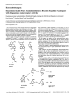 Enantiomerically Pure AminoindolizinesBicyclic Ergoline Analogues with Dopamine Autoreceptor Activity.