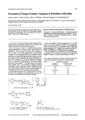 Formation of Charge-Transfer Complexes of Penicillins with Iodine.