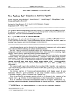 New Acylated 124-Triazoles as Antiviral Agents.