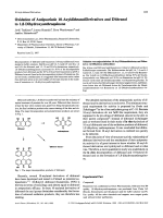 Oxidation of Antipsoriatic 10-Acyldithranol Derivatives and Dithranol to 18-Dihydroxyanthraquinone.
