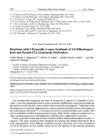 Reactions with 3-Pyrazolin-5-onesSynthesis of 3.4-Dihydropyridone and Pyrano [2.3-c] pyrazole Derivatives