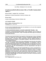 S-Aryltetramethylisothiouronium Salts as Possible Antimicrobial Agents I.
