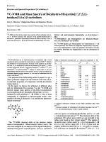 Structure and Spectral Properties of  -Carbolines I13C-NMR and Mass Spectra of Decahydro-5H-pyrido[1 В╨Ж2 В╨Ж51]-imidazo[34-a]- -carbolines.
