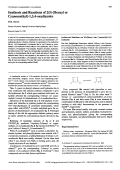 Synthesis and Reactions of 25-[Benzyl or Cyanomethyl]-134-oxadiazoles.
