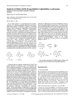 Synthesis of methyl 41H-oxopyrimido[12-a]perimidine-2-carboxylate.