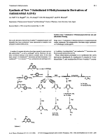 Synthesis of New 7-Substituted 4-Methylcoumarin Derivatives of Antimicrobial Activity.