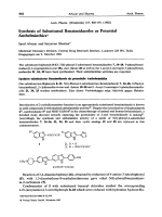Synthesis of Substituted Benzimidazoles as Potential Anthelminthics.