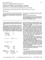 Synthesis of Vinca Alkaloids and Related Compounds XLIV1Synthesis of Trifluoro-apovincaminic Acid Ester.