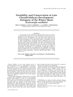 Variability and Conservation in Late Chondrichthyan DevelopmentOntogeny of the Winter Skate Leucoraja ocellata.