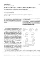 Phenanthrylalkanoic Acids IIISyntheses and Biological Activities of 4-Phenanthryl Derivatives.