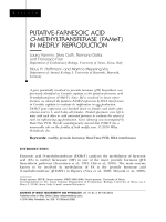 Putative-farnesoic acid O-methyltransferase (FAMeT) in medfly reproduction.