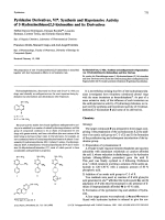 Pyridazine Derivatives VI. Synthesis and Hypotensive Activity of 3-Hydrazinethieno23-hCinnoline and its Derivatives