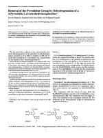 Removal of the Pyrrolidine Group by Dehydrogenation of a 4-Pyrrolidin-2-yl-tetrahydroisoquinoline.