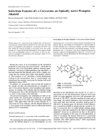 Solid-State Features of --Corycavine an Optically Active Protopine Alkaloid.