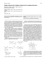 Studies on Heterocyclic AmidinesSynthesis of New Azaindene Derivatives.