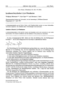 Synthesen bicyclischer 126-Thiadiazine.