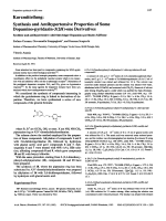 Synthesis and Antihypertensive Properties of Some Dopamino-pyridazin-32H-one Derivatives.