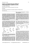 Synthesis and Dopamine Receptor Binding of 3-Phenylazepino[543-cd]indole Derivatives.