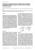 Synthesis and Evaluation of 3-Fluoro-2-piperazinyl-5813-trihydro-5-oxoquino[12-a][31]benzoxazine-6-carboxylic Acids as Potential Antibacterial Agents.