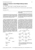 Synthesis of Antitumour Carbon-Bridged Imidazopyridazine Carbamates.