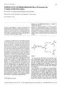 Synthesis of S-34-Diaminobutanenitriles as Precursors for 3-Amino-GABA Derivatives.