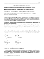 Thiophen als Strukturelement physiologisch aktiver Substanzen 16. Mitt. Thienoisoxazole durch Substitution am Oximstickstoff