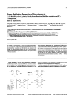 Tumor Inhibiting Properties of Stereoisomeric [12-Bis3-hydroxyphenylethylenediamine]dichloroplatinumII-Complexes Part ISynthesis.